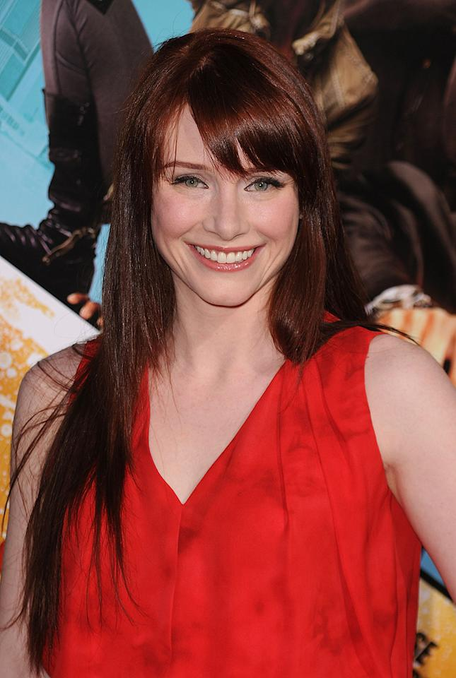 """<a href=""""http://movies.yahoo.com/movie/contributor/1808534469"""">Bryce Dallas Howard</a> at the Los Angeles premiere of <a href=""""http://movies.yahoo.com/movie/1810096356/info"""">The Losers</a> - 04/20/2010"""