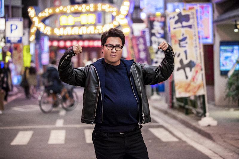 Hong Kong actor Donnie Yen plays obese police officer Fallon Chu in action-comedy movie Enter The Fat Dragon. (PHOTO: Shaw Organisation)