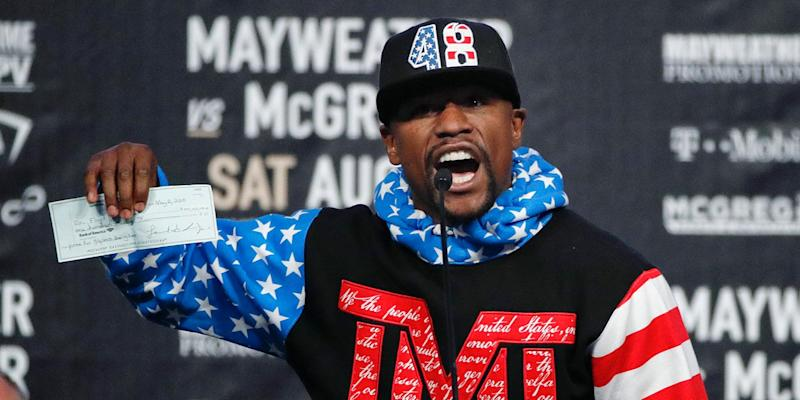 Floyd Mayweather to apply for MMA license