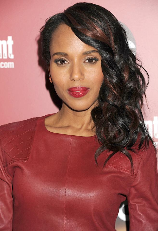 NEW YORK, NY - MAY 14:  Actress Kerry Washington attends the Entertainment Weekly & ABC 2013 New York Upfront Party at The General on May 14, 2013 in New York City.  (Photo by Jennifer Graylock/WireImage)