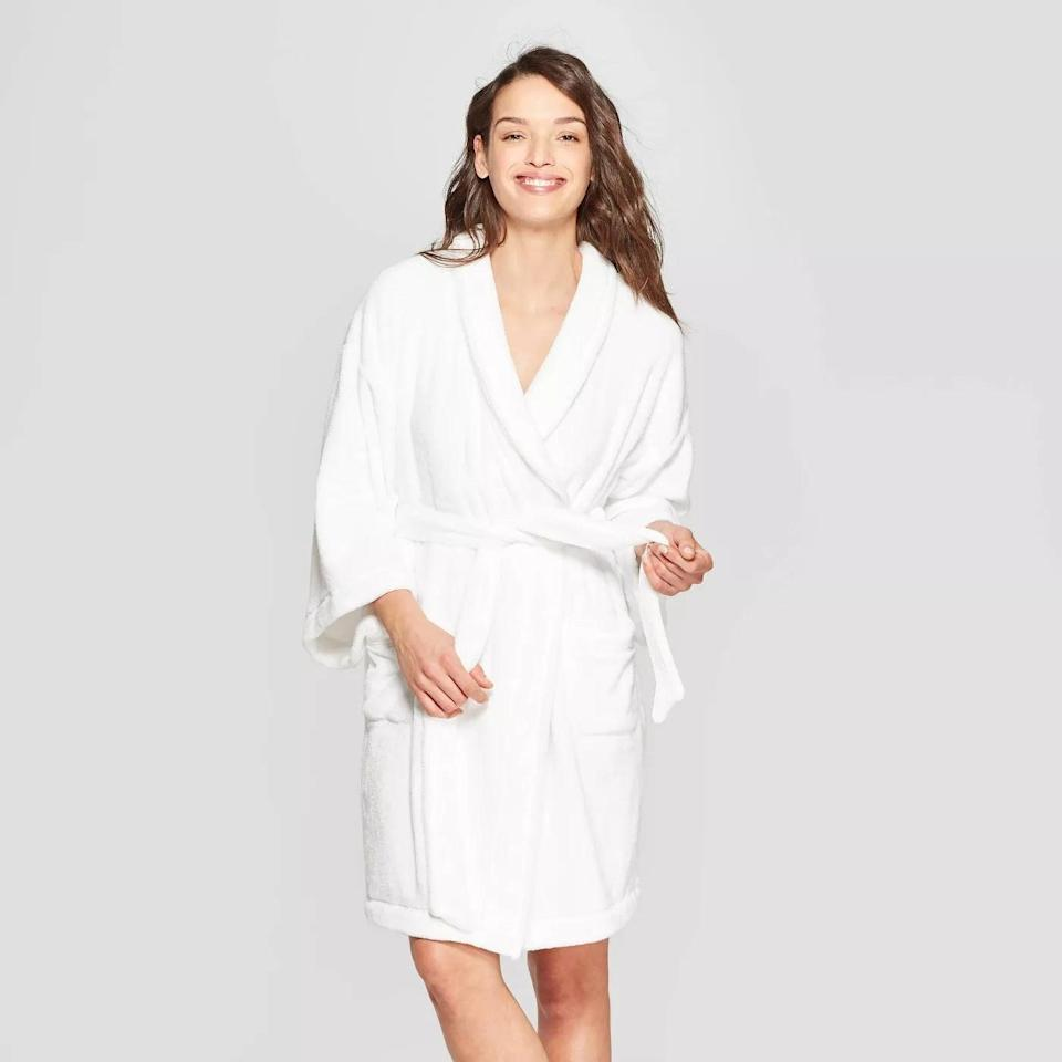 <p>Give the gift of cozy vibes with this <span>Stars Above Cozy Robe</span> ($30).</p>