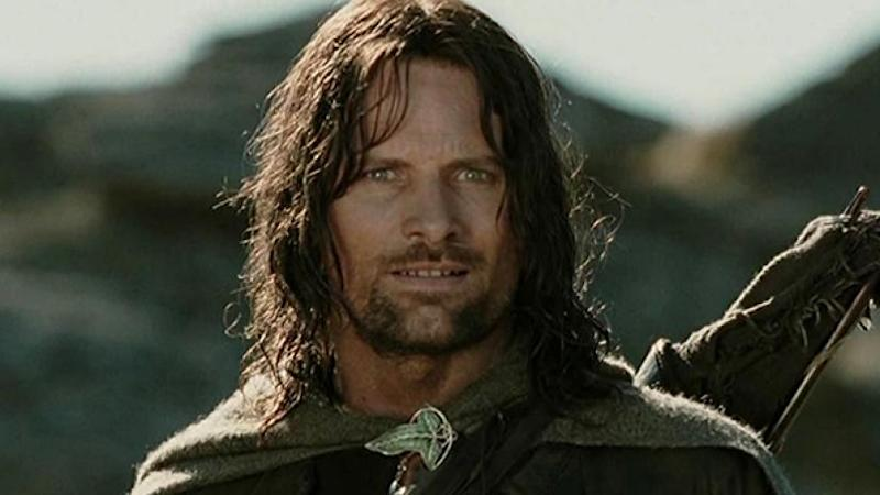 Mortensen as Aragorn (Credit: New Line)