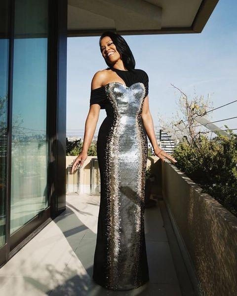 """<p>The director of <em>One Night in Miami</em> dressed to remind you that she's still a movie star, in a powerfully focus-pulling gown that did that thing that Regina King loves to do with her style choices: combine a sense of power and strength with a feeling of glamour and gorgeousness.</p><p><a href=""""https://www.instagram.com/p/CL3DUHWAslH/"""" rel=""""nofollow noopener"""" target=""""_blank"""" data-ylk=""""slk:See the original post on Instagram"""" class=""""link rapid-noclick-resp"""">See the original post on Instagram</a></p>"""