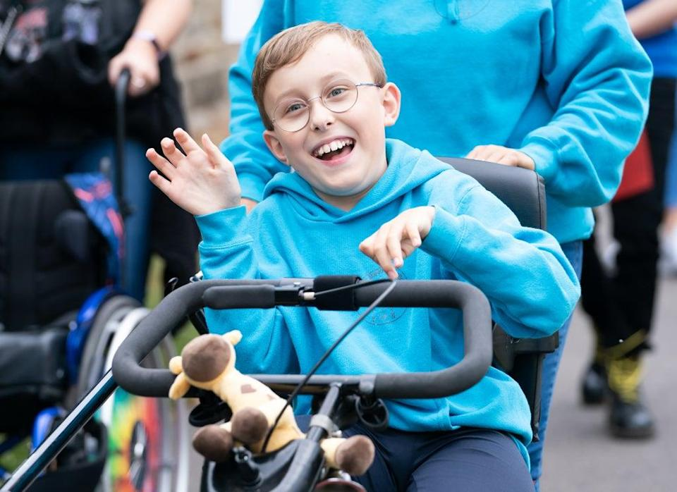 Inspirational young fundraiser Tobias Weller (Danny Lawson/PA) (PA Wire)