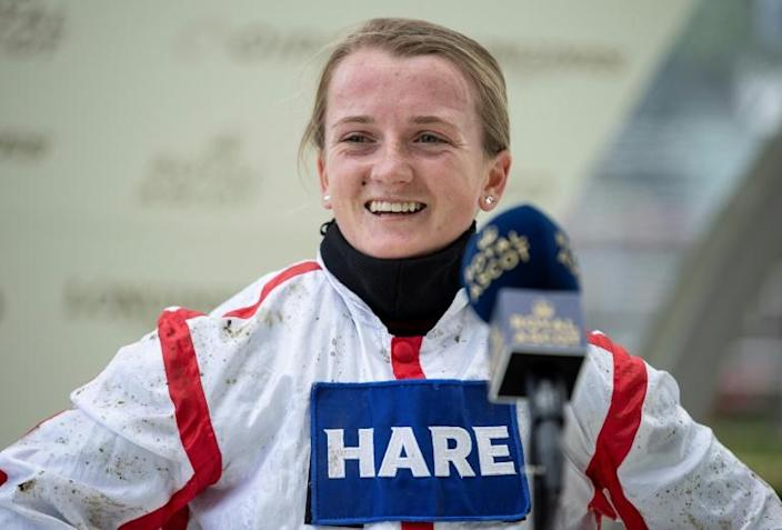 Hollie Doyle and boyfriend Tom Marquand dominated British Champions Day at Ascot riding two winners apiece