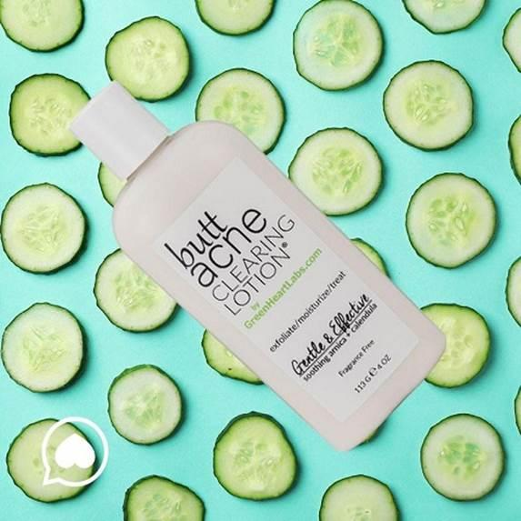 Green Heart Labs Butt Acne Clearing Lotion. (Photo: Amazon)