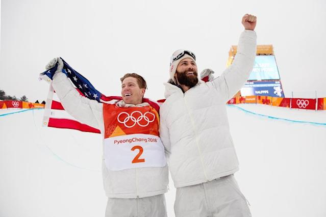 <p>shaunwhite: This is the most amazing day of my life! We did it #Olympics #GoldMedal - @ussnowboardteam (Photo via Instagram/shaunwhite) </p>