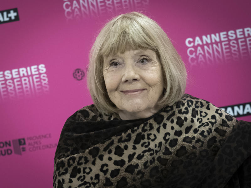 Dame Diana Rigg, pictured in Cannes in 2019, has died at the age of 82. (Photo by Arnold Jerocki/Getty Images)
