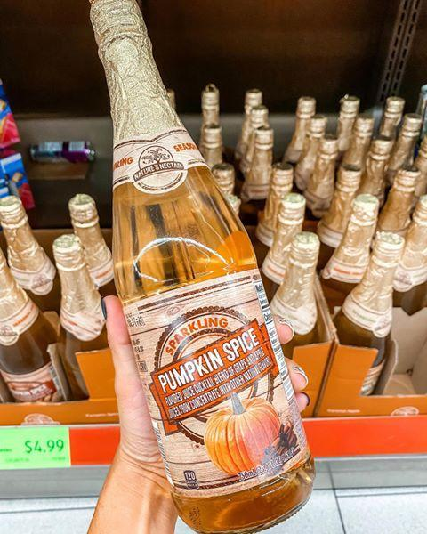 "<p>If you're not a fan of coffee, you might feel a bit left out of pumpkin spice drinks trend this fall. Never fear! Aldi has this sparkling pumpkin spice drink we just need to try for science. There's also a caramel apple flavor if that makes you happier. </p><p><a href=""https://www.instagram.com/p/CESfPUohPsK/"" rel=""nofollow noopener"" target=""_blank"" data-ylk=""slk:See the original post on Instagram"" class=""link rapid-noclick-resp"">See the original post on Instagram</a></p>"