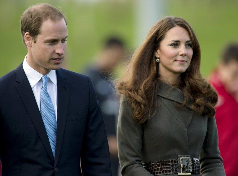 The Duke of Cambridge and his wife Catherine the Duchess of Cambridge in Burton Upon Trent, October 9, 2012