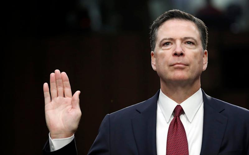James Comey is writing a book about his life and career - AP
