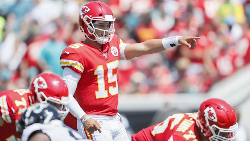 Mahomes Played Through Ankle Sprain In Chiefs Win Reid