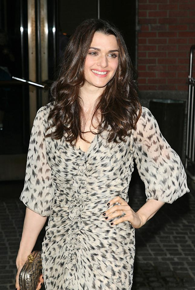 "<a href=""http://movies.yahoo.com/movie/contributor/1800019614"">Rachel Weisz</a> at the New York screening of <a href=""http://movies.yahoo.com/movie/1809843292/info"">The Brothers Bloom</a> - 05/07/2009"