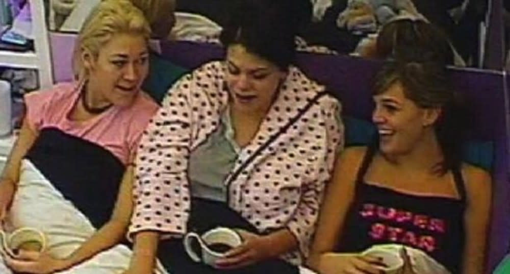 Jo O'Meara, Jade Goody and Danielle Lloyd were accused of racism during 'Celebrity Big Brother' in 2007. (Channel 4)