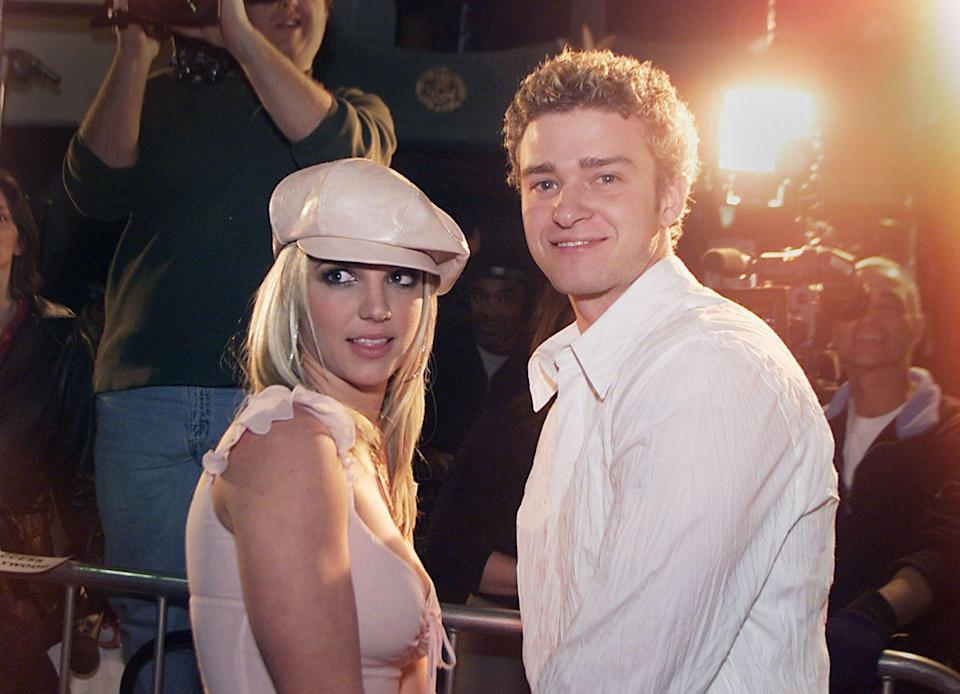 """<p>Speaking to <a href=""""https://www.rollingstone.com/music/news/britney-spears-finds-it-hard-to-be-a-woman-rolling-stones-2003-cover-story-20110329"""" rel=""""nofollow noopener"""" target=""""_blank"""" data-ylk=""""slk:Rolling Stone"""" class=""""link rapid-noclick-resp"""">Rolling Stone</a> in 2011, Britney gave a short and sweet (and long overdue) review of JT's 'Cry Me a River' music video, which famously starred a Britney lookalike. 'I think it looks like such a desperate attempt, personally. But that was a great way to sell the record. He's smart [laughs]. Smart guy.'</p>"""