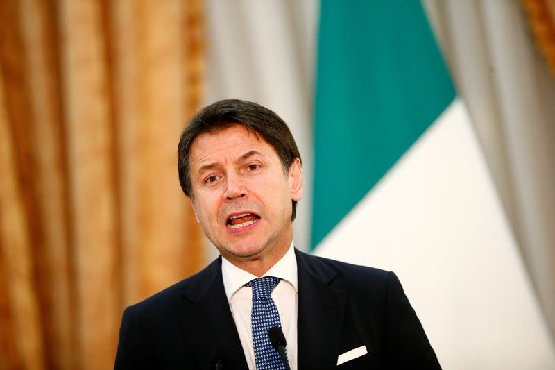 Italian PM Conte names new ministers, sets policy agenda for 2020