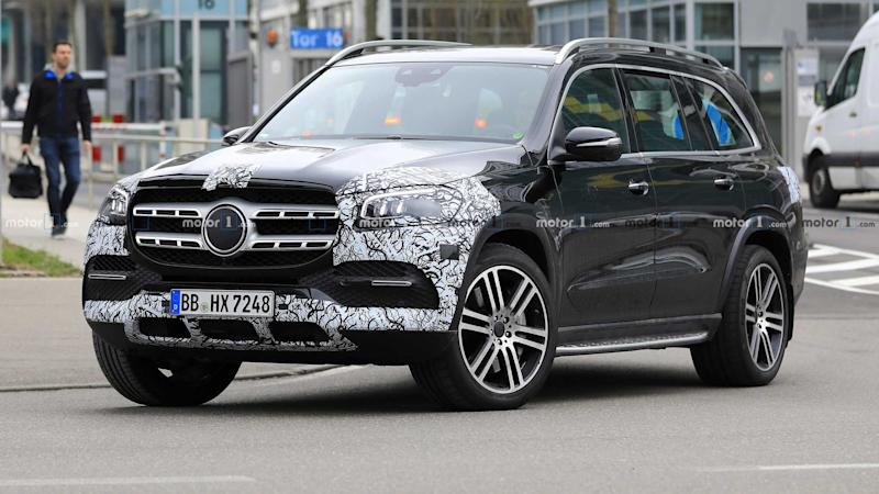 2021 Mercedes-AMG GLS 63 New Spy Photos Available >> Mercedes Benz Gls Class Caught Nearly Naked Ahead Of Ny Debut