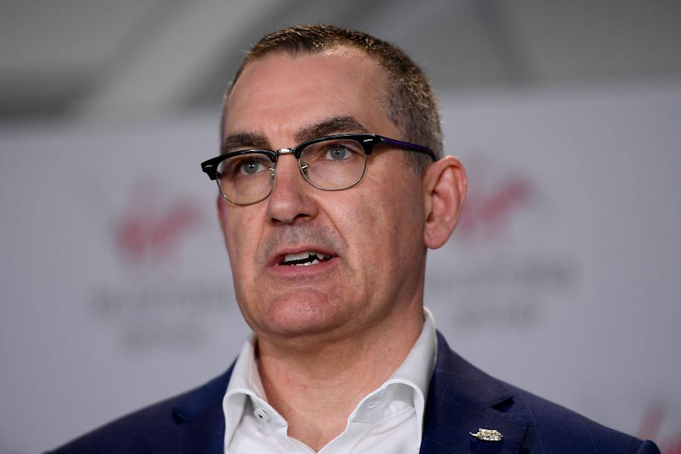 Virgin Australia CEO & Managing Director, Paul Scurrah. (Photo by Albert Perez/Getty Images)