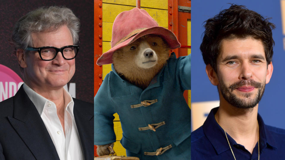 Ben Whishaw replaced Colin Firth as Paddington. (Credit: David M. Benett/Matt Winkelmeyer/Getty/StudioCanal)
