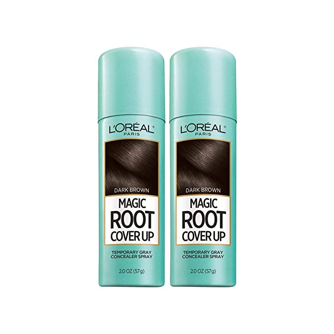 """<h3>L'Oreal Paris Root Cover Up Spray</h3> <br><br>Trips to the salon have been few and far between this year, so if you're in need of a quick DIY fix, try this 4.3-star reviewed at home root cover-up spray. <br><br><strong>L'Oreal Paris</strong> Root Cover Up Temporary Gray Concealer Spray, Pack Of 2, $, available at <a href=""""https://amzn.to/3lk4NdG"""" rel=""""nofollow noopener"""" target=""""_blank"""" data-ylk=""""slk:Amazon"""" class=""""link rapid-noclick-resp"""">Amazon</a>"""