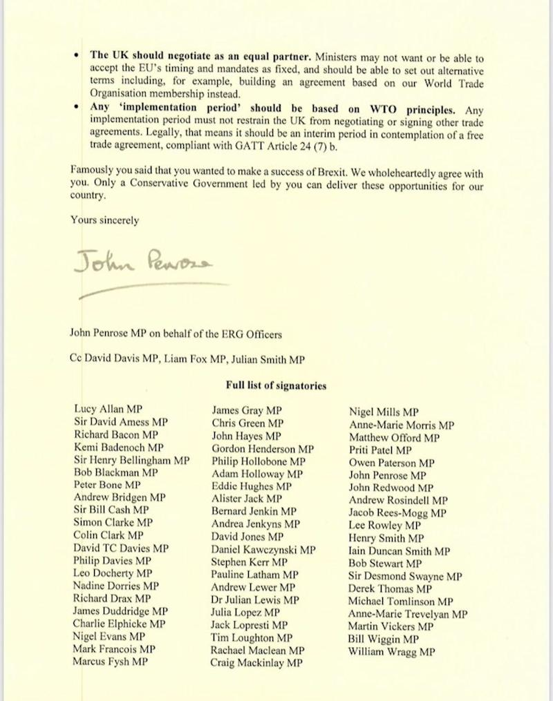 european research group letter