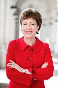 """""""Senator Collins has devoted her life to public service and representing the people of Maine,"""" said Robert A. Clark, PhD, CFA, president of Husson University. """"Her first-hand insights into the inner workings of business and government will provide our students with a wealth of knowledge they wouldn't otherwise be able to obtain.""""  Collins was the founding executive director of the Richard E. Dyke Center for Family Business at Husson University in Bangor, Maine. In recognition of her numerous contributions to the University and the community, she was awarded an honorary doctorate of public service from Husson in 1997."""