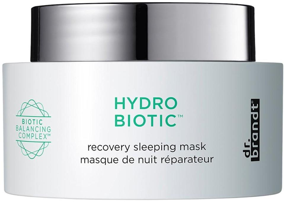 <p>Treat your tired, stressed out skin to this beloved <span>Dr. Brandt Hydro Biotic Recovery Sleeping Mask</span> ($52).</p>