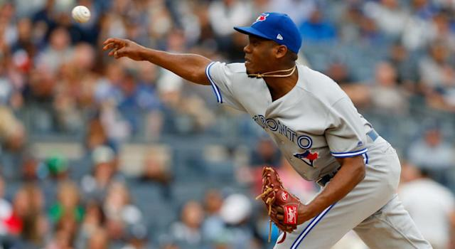 Carlos Ramirez is new to pitching, but he's an intriguing talent (Jim McIsaac/Getty Images)