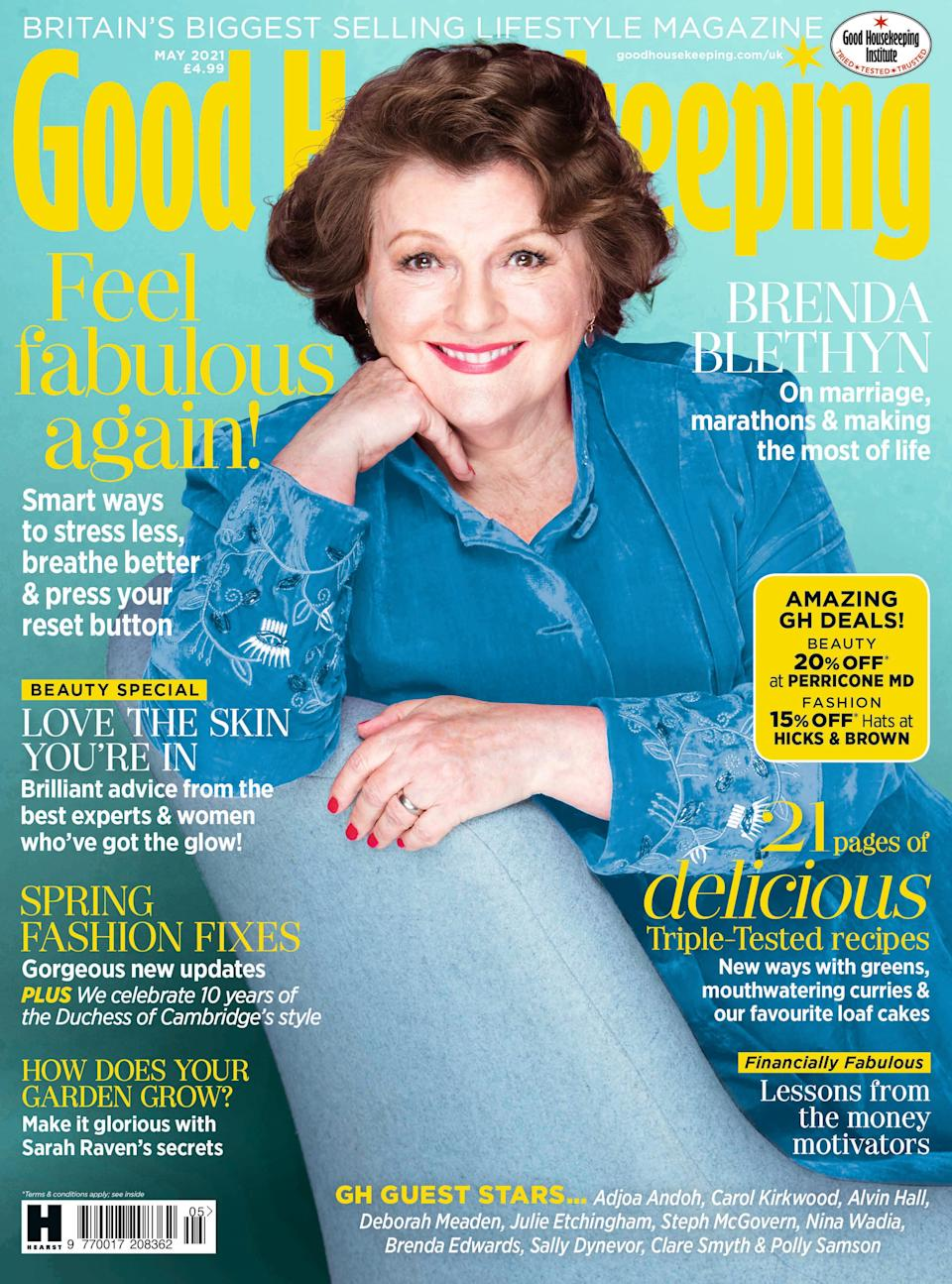 Brenda Blethyn was speaking to Good Housekeeping (Trevor Leighton/Good Housekeeping)