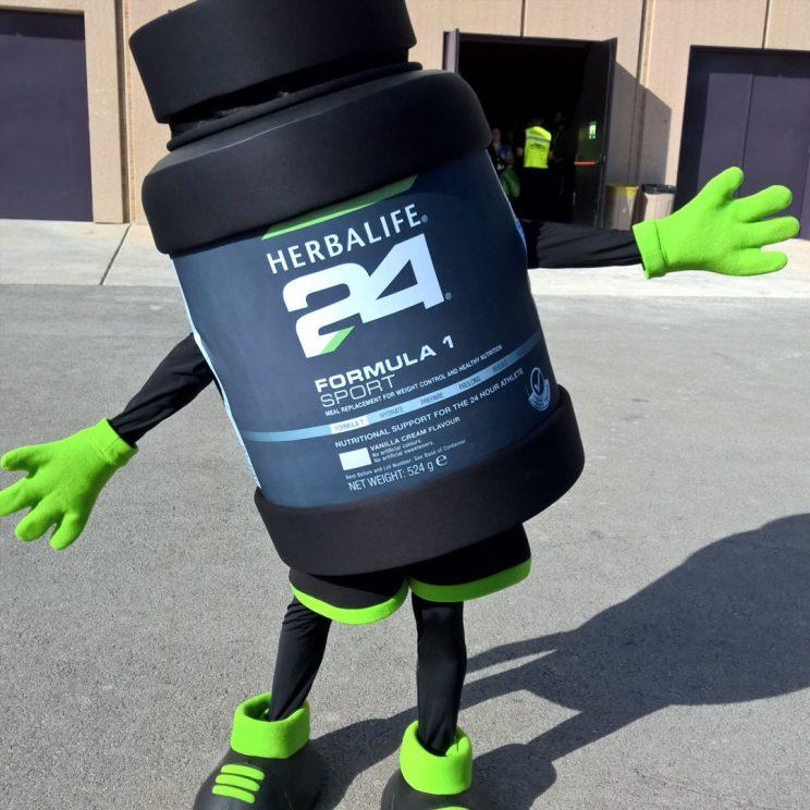 Herbalife comes in containers that look like this