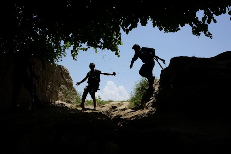 """The Taliban launched their annual """"spring offensive"""" in late April, heralding a surge in fighting as the US tries to craft a new Afghan strategy (AFP Photo/NOORULLAH SHIRZADA)"""