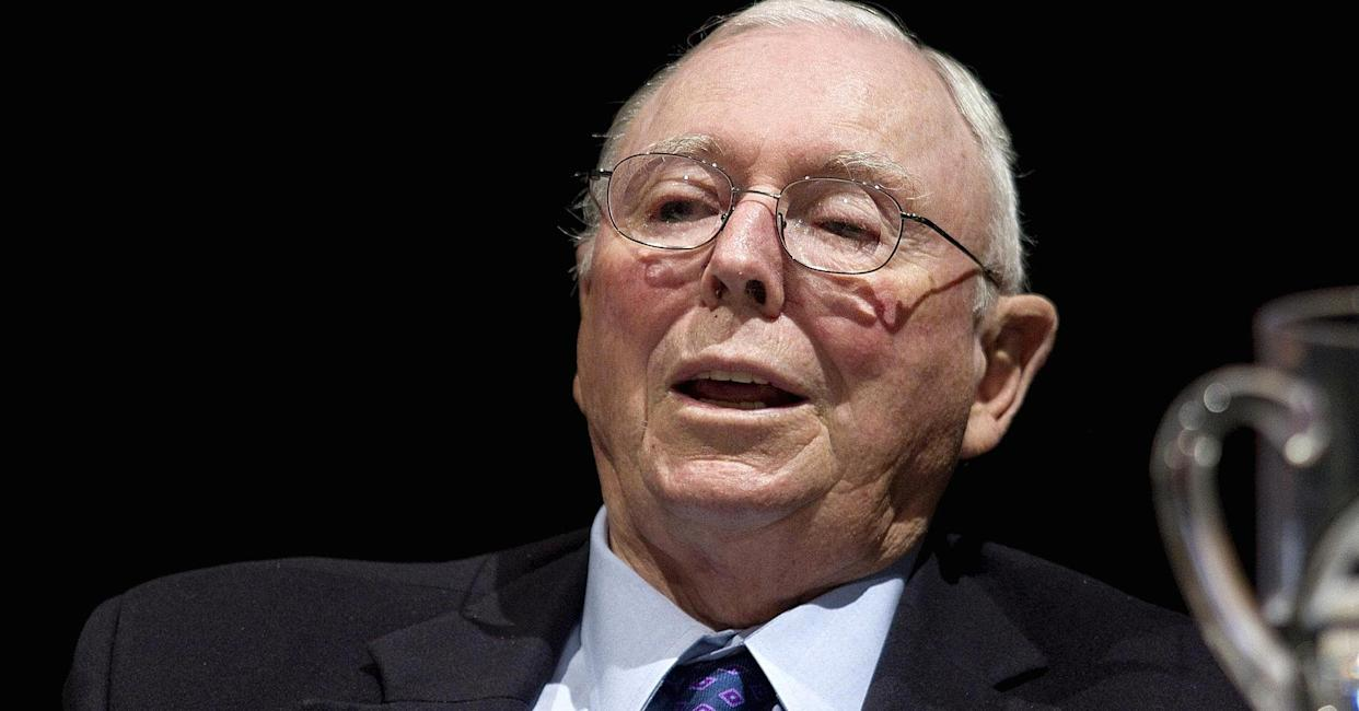 Charlie Munger (Jonathan Alcorn | Bloomberg | Getty Images)