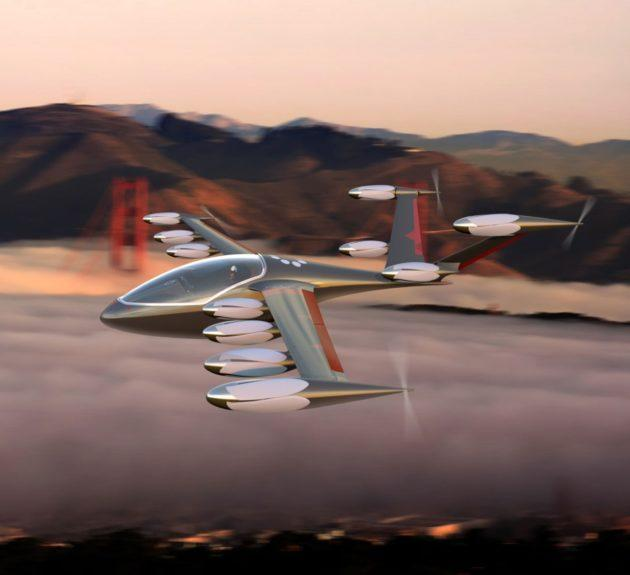 Joby Aviation flying car concept