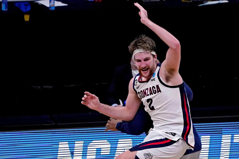 Drew Timme and the Gonzaga Bulldogs take on UCLA in the Final Four.