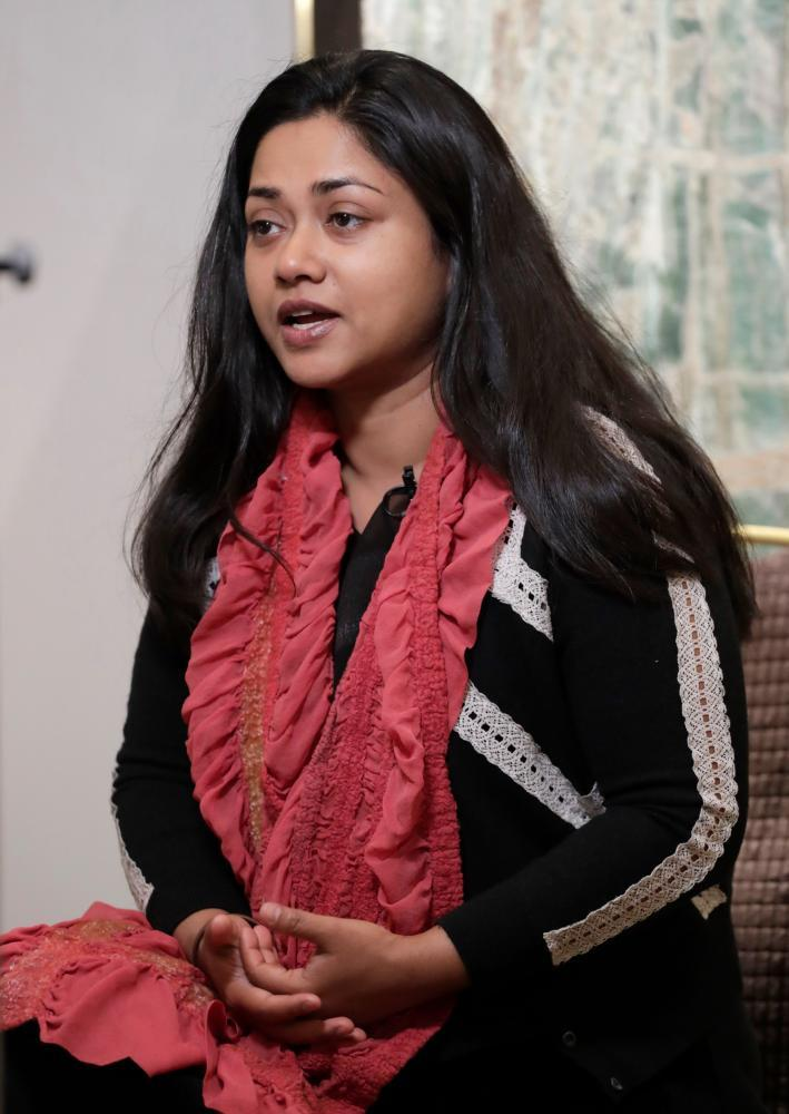 Director Rubaiyat Hossain, who based the film on interviews with hundreds of garment workers.