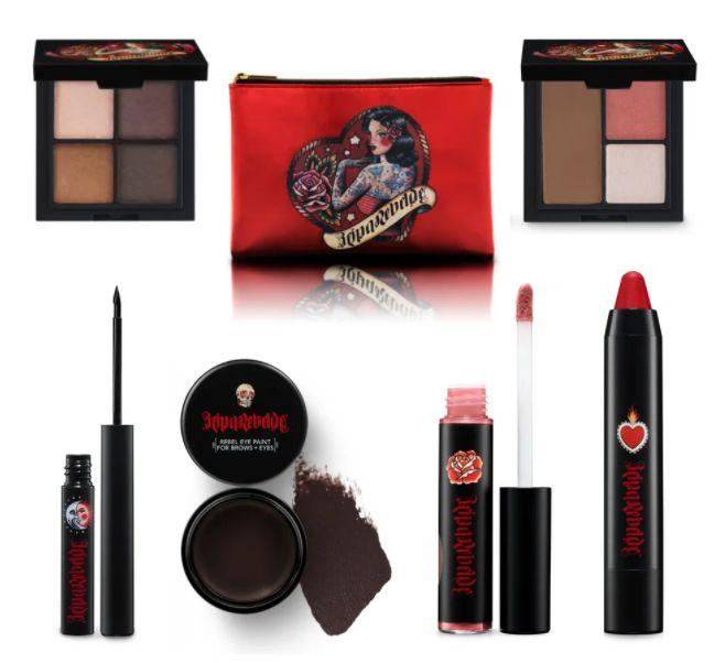 """<a href=""""https://fave.co/2FwOV8i"""" target=""""_blank"""" rel=""""nofollow noopener noreferrer"""">Reina Rebelde</a>is a makeup brand with bold colors and sexy packaging. You'll find bright lipsticks and precision eyeliner. The brand was founded by Regina Merson, a Mexican woman with a passion for makeup that she traces back to her favorite telenovelas growing up. Shop Reina Rebelde at<a href=""""https://fave.co/2FwOV8i"""" target=""""_blank"""" rel=""""nofollow noopener noreferrer"""">Target</a>."""