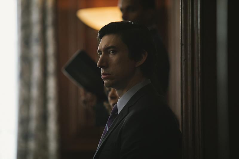 Adam Driver in The Report. (Amazon Studios)
