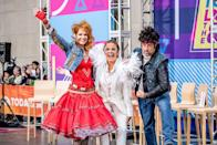 <p>Savannah Guthrie showed her true (fun) colors in this Cyndi Lauper getup complete with a jean jacket and puffy skirt. Hoda Kotb was dressed to the nines in a sequin-filled outfit and glasses inspired by Elton John. Plus, Caron Daly looked like a major stud in his Bruce Springsteen costume. </p>