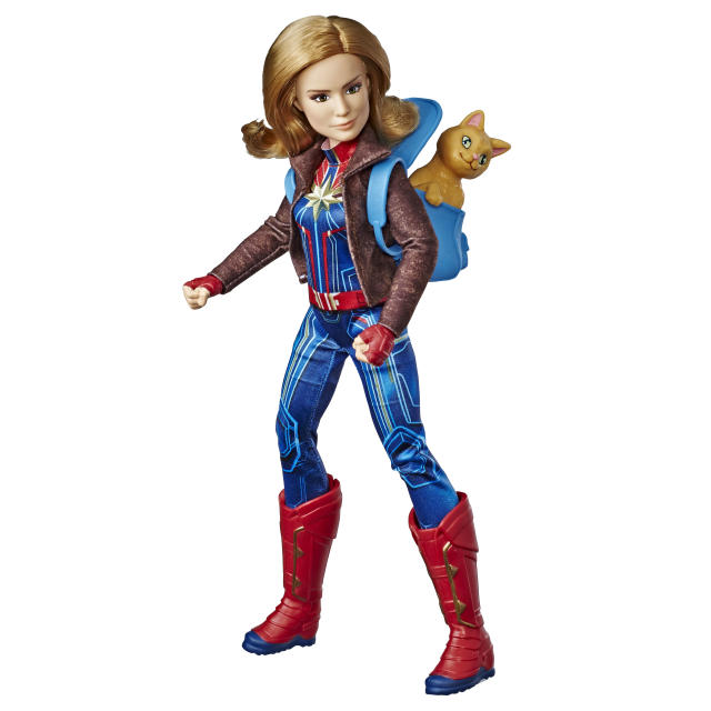 Captain Marvel 11.5-inch doll will retail for $24.99. (Photo: Hasbro)