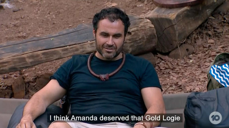 Miguel Maestre has made a starling admission about co-host Amanda Keller. Photo: Ten