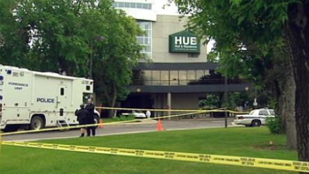 Three employees of an armoured car company are dead and a colleague is in critical condition following an attempted armed robbery at the University of Alberta in Edmonton this morning.