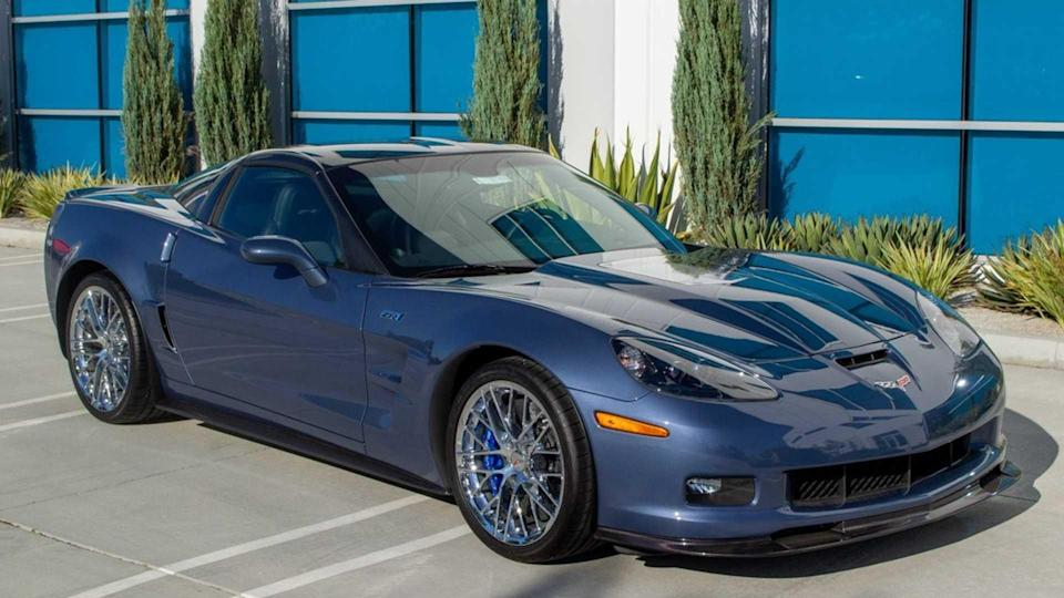 Own This Rare-Colored 2011 Chevy  Corvette ZR1 With 838 Miles