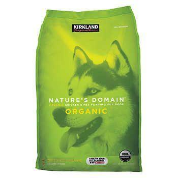 """<p>Only the <a href=""""https://www.costco.com/Kirkland-Signature-Nature's-Domain-Organic-Chicken-%2526-Pea-Dog-Food-30-lb..product.100155729.html"""" rel=""""nofollow noopener"""" target=""""_blank"""" data-ylk=""""slk:best"""" class=""""link rapid-noclick-resp"""">best</a> ever for pups. </p>"""