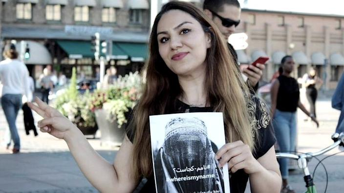 Sahar Samet, an Afghan refugee in Sweden, said she supported the campaign from the start