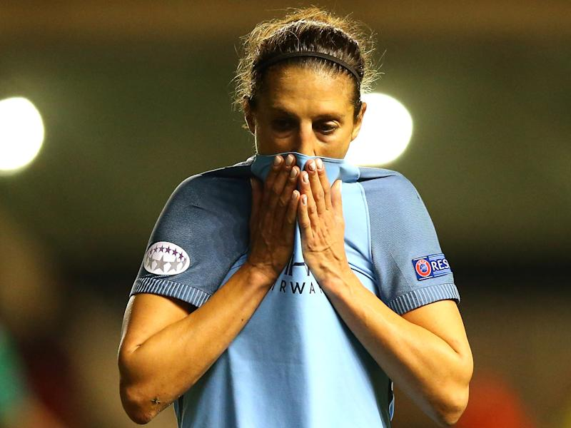 City's Champions League dream was left in tatters: Getty