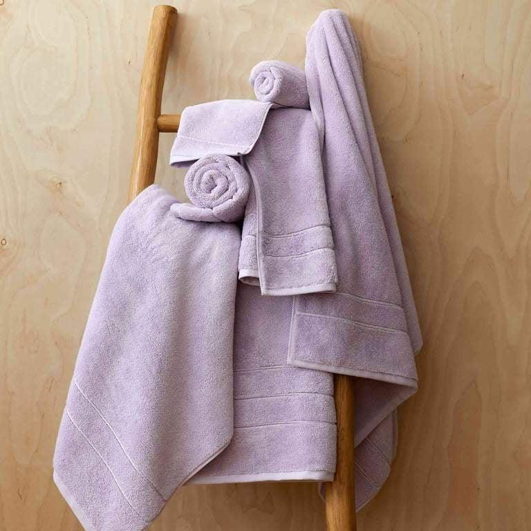 <p>There's something about new towels that just get us excited. We'd start with the super soft <span>Brooklinen Super-Plush Bath Towels</span> ($62, originally $69). Plus, they come in two new limited-edition shades, a pretty lilac and seafoam green.</p>