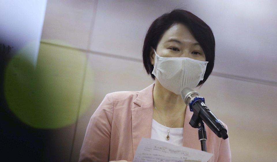 Starry Lee, chairwoman of the Democratic Alliance for the Betterment and Progress of Hong Kong. Photo: K. Y. Cheng
