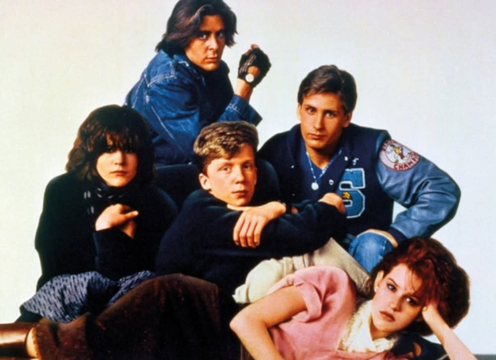 'The Breakfast Club' helped launch the careers of the 1980s 'Brat Pack' of stars. (Universal Pictures)