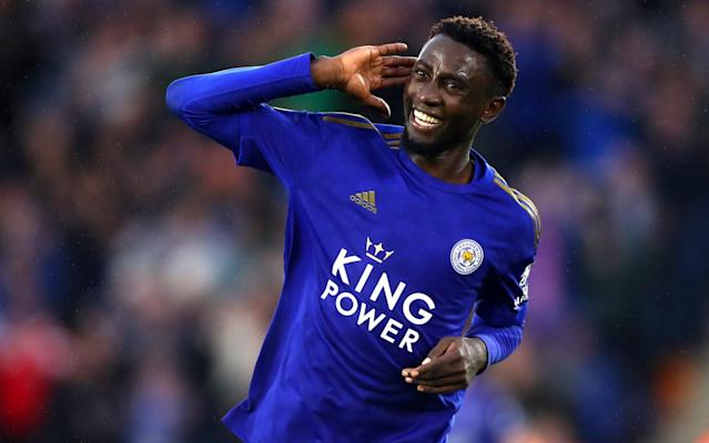 Wilfred Ndidi scored Leicester fifth goal on Sunday, but you won't find him in the opposition box very often - Getty Images Europe
