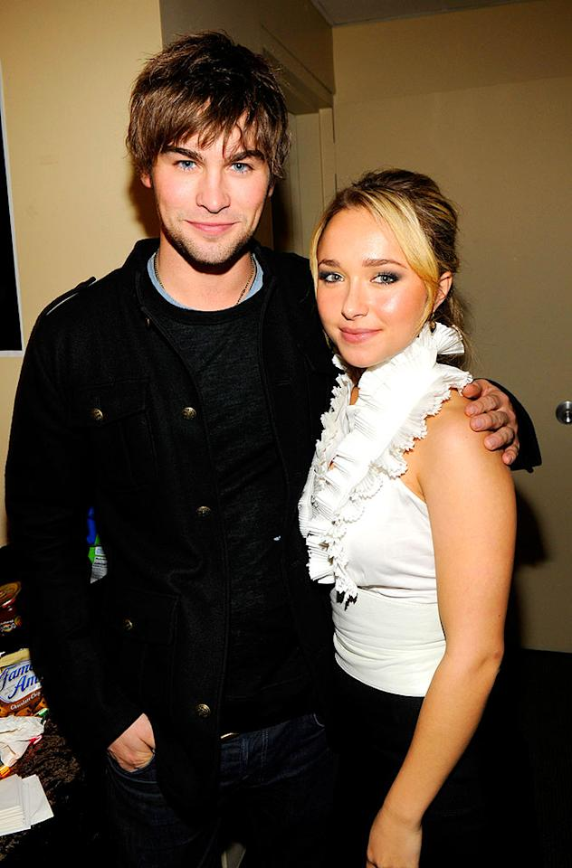 """Gossip Girl"" hunk Chace Crawford and ""Heroes"" hottie Hayden Panettiere were two of the many young celebs in attendance at the event. Kevin Mazur/<a href=""http://www.wireimage.com"" target=""new"">WireImage.com</a> - December 14, 2007"